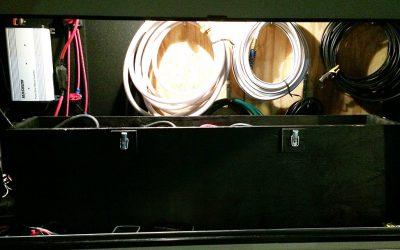 Custom RV 12 Volt Battery Box
