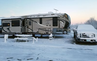 Kentucky RV Snow Day in March