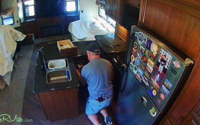 Camper Remodel – Kitchen Demolition – Part 2