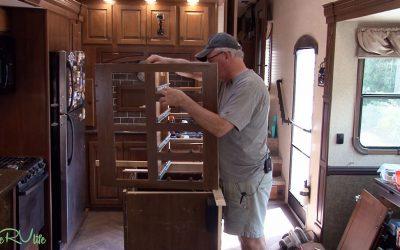 Camper Remodel – Rebuilding the Drawer Cabinets – Part 4