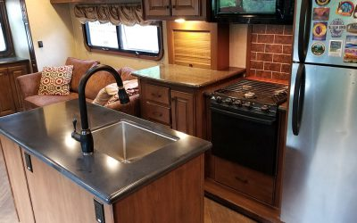 Camper Remodel  – We Are Done Great Results – Part 8