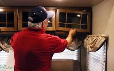 Cabinet Door Camper Repair