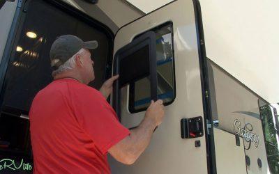 Slim Shade Upgrading RV Door Window