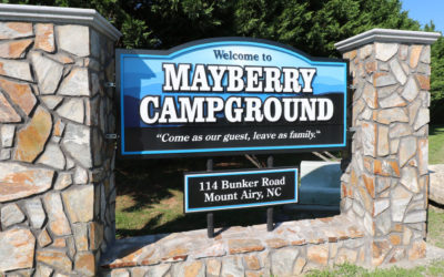 Mayberry Campground – Mt Airy NC