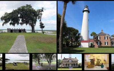 St Simons GA – The Fort and Lighthouse