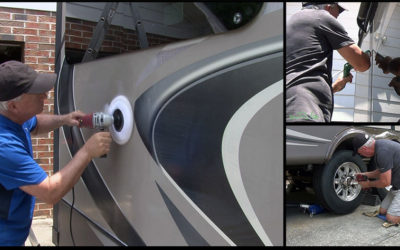 RV Seasonal Maintenance – Wax, Caulk and More