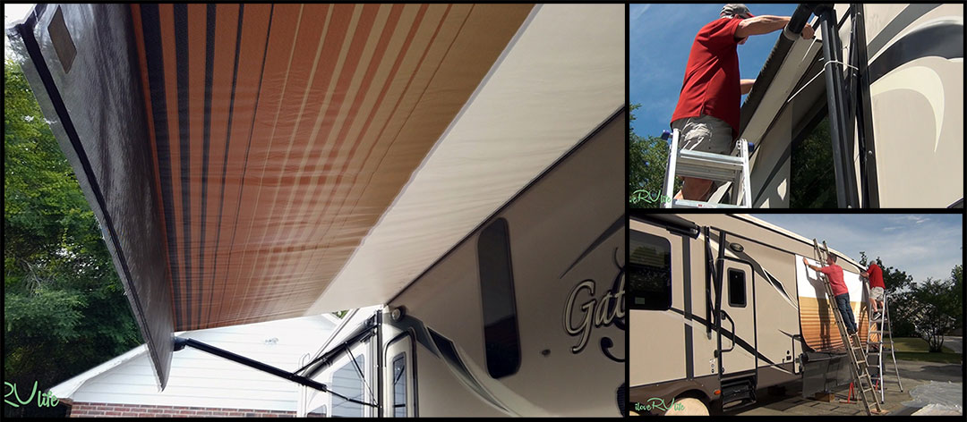 Replacing LCI Motorized RV Awning - How to Winterize Your RV