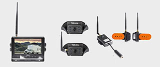 Haloview 7 inch 720P Wireless Range Dominator 4-Camera System RD7 Ultimate