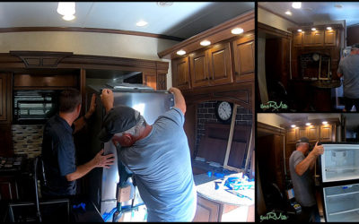 Replacing An RV Refrigerator